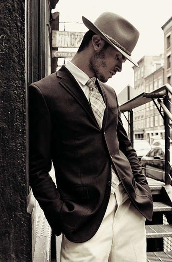 Old School Men's Suit Looks - 29