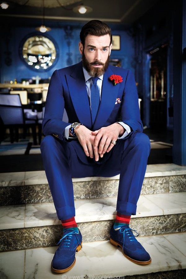 Old School Men's Suit Looks - 4