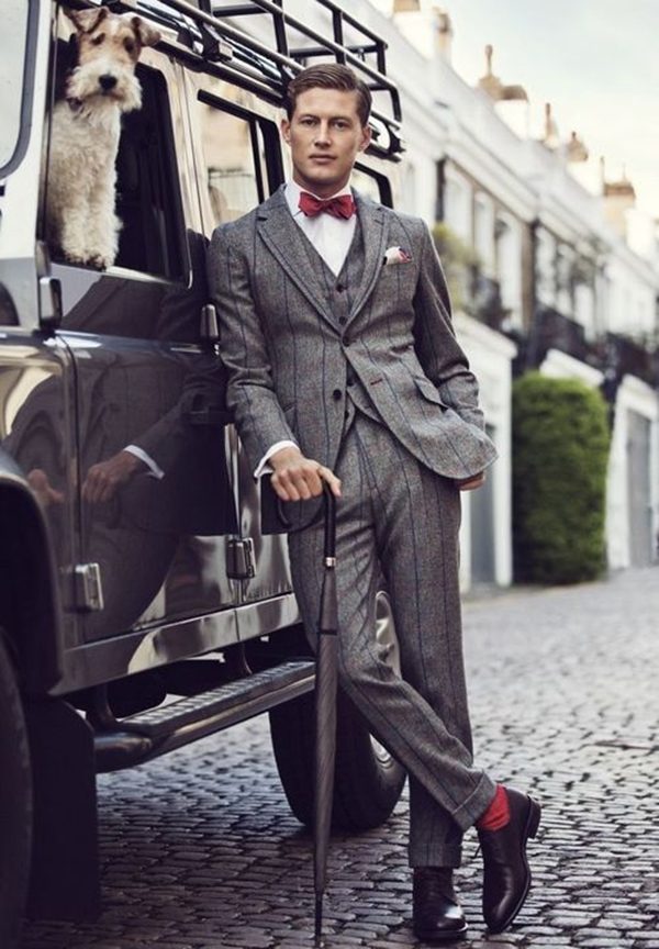 Old School Men's Suit Looks - 7