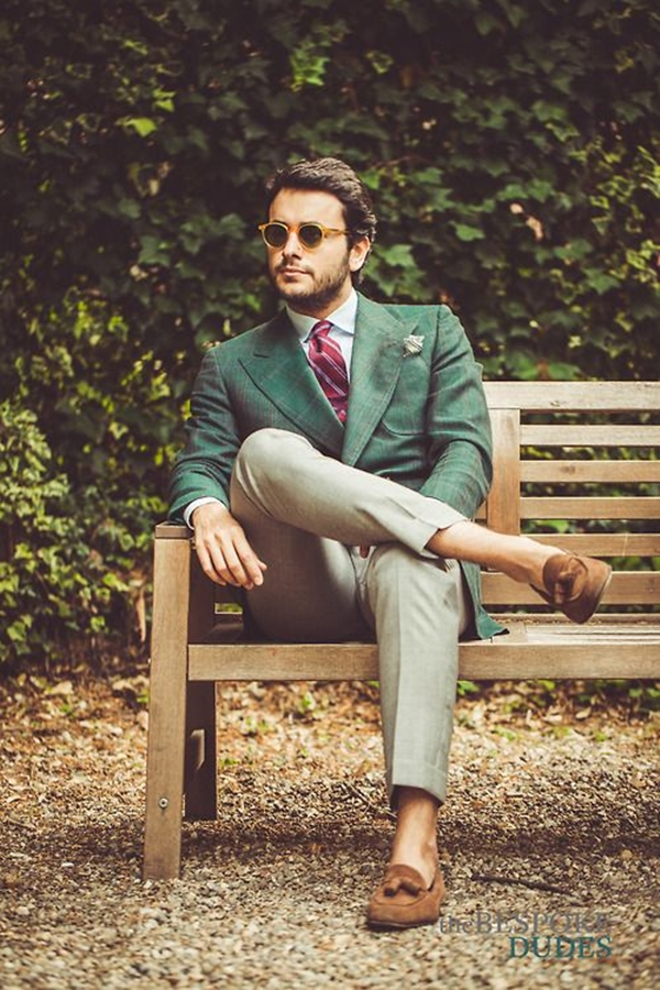 Old School Men's Suit Looks - 9