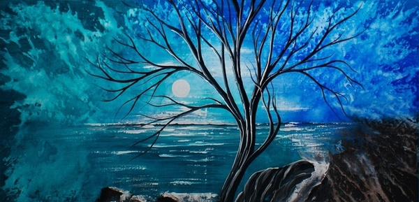 30 Best acrylic painting ideas For Beginners - (18)