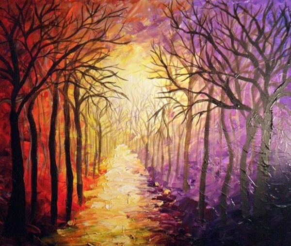 30 Best acrylic painting ideas For Beginners - (29)