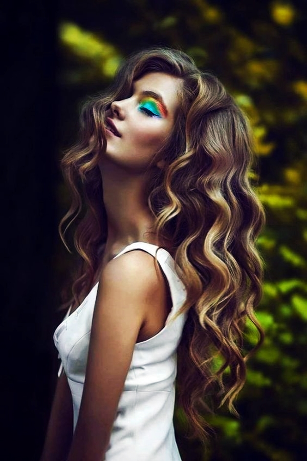 40 Perfectly Imperfect Curly Hair Hairstyles - (5)