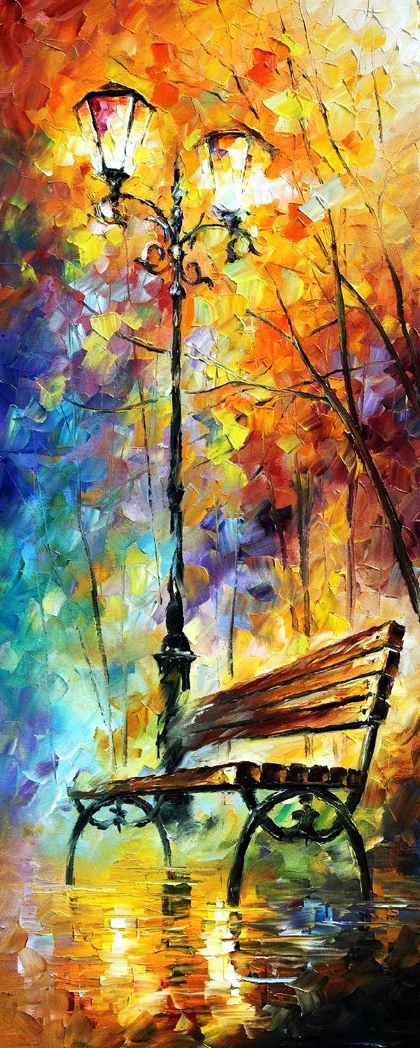 30 best canvas painting ideas for beginners for Artist canvas paint color