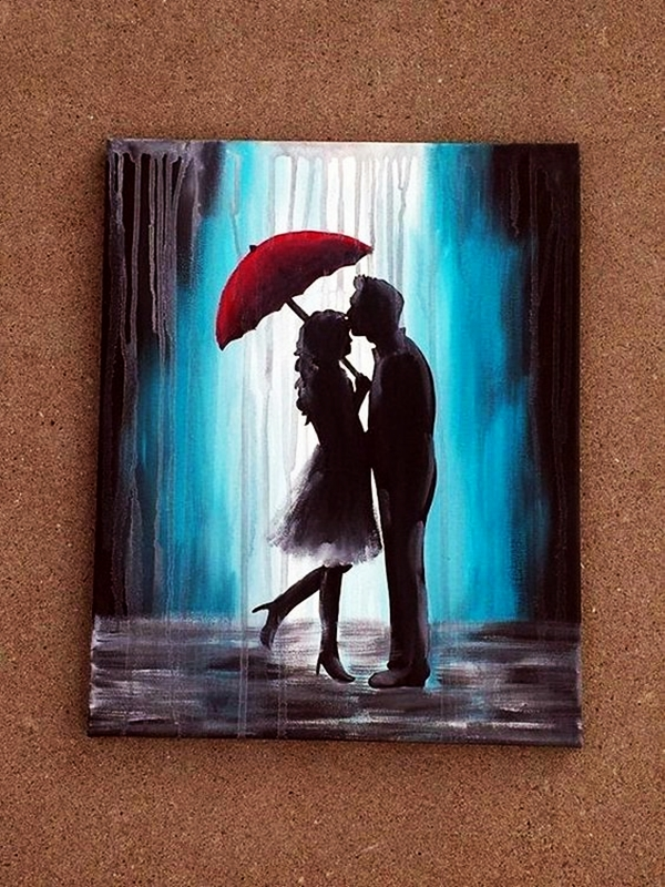 Best Canvas Painting Ideas for Beginners -  (8)