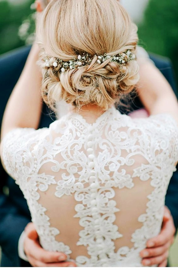 Drop-Dead Exquisite Wedding Hairstyle Ideas (13)