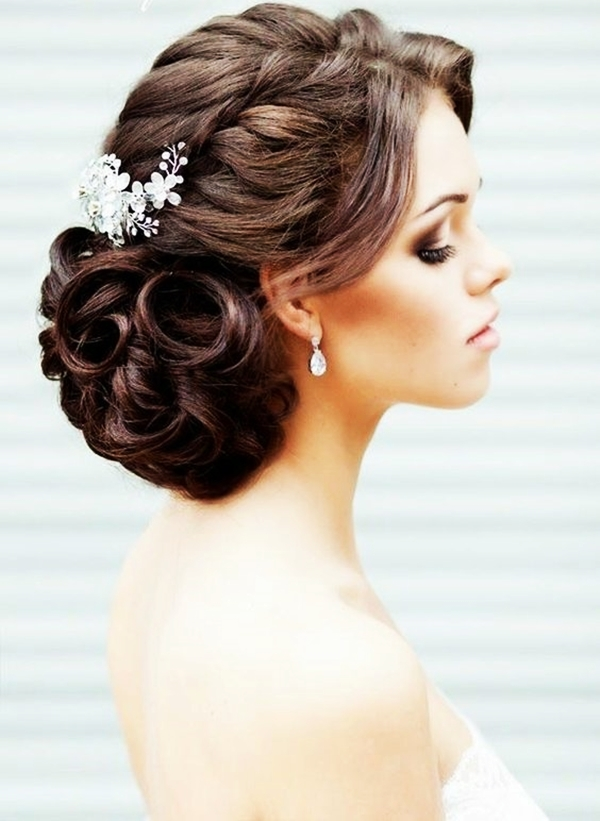 Drop-Dead Exquisite Wedding Hairstyle Ideas (22)