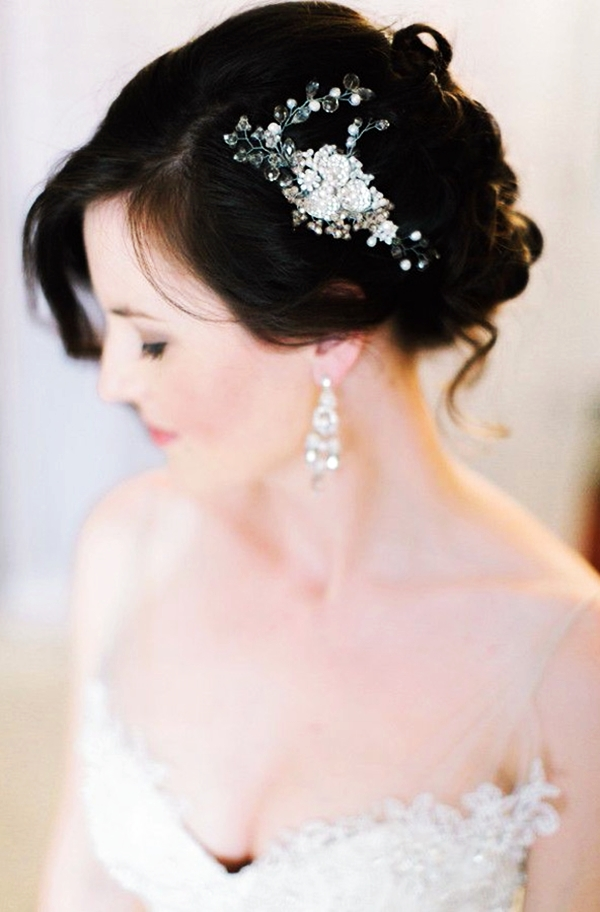 Drop-Dead Exquisite Wedding Hairstyle Ideas (40)
