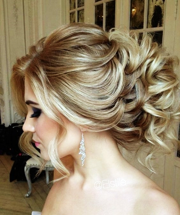 Drop-Dead Exquisite Wedding Hairstyle Ideas (46)