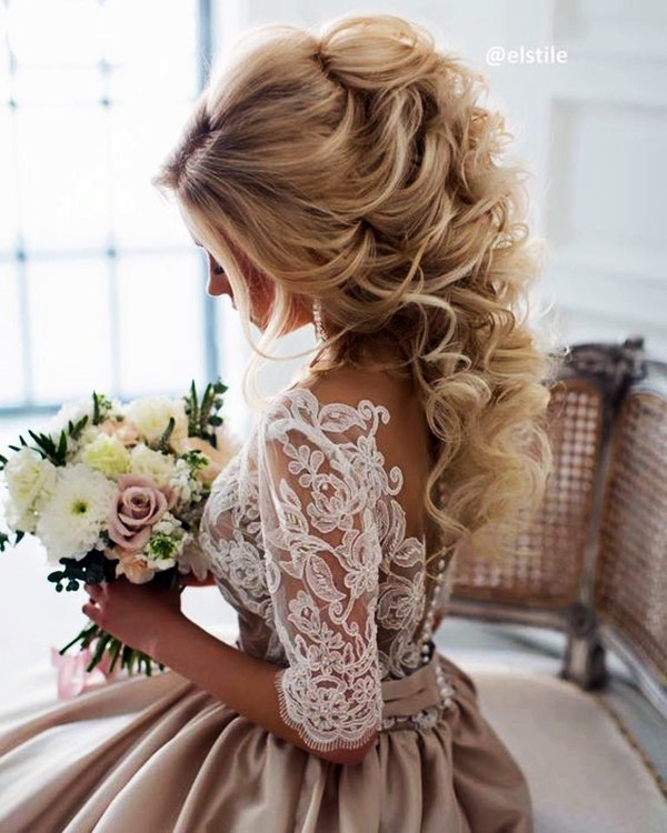 Drop Dead Exquisite Wedding Hairstyle Ideas 9