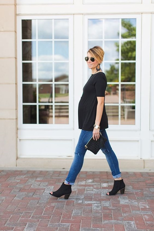 Stylize your Baby Bump with 40 Preggy Fashion Inspirations