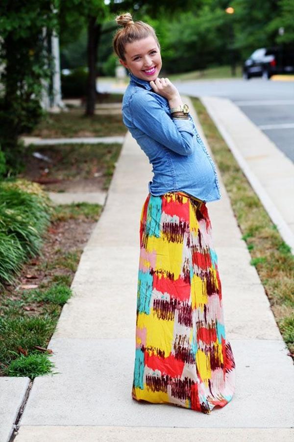 Preggy Fashion Inspirations - (38)