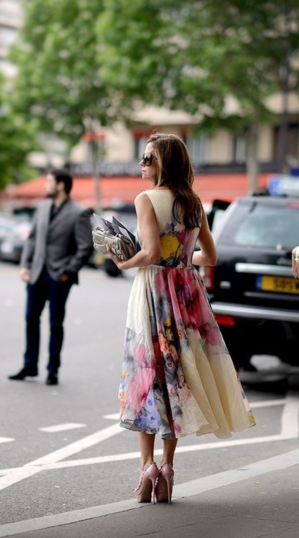 40 Ambitious midi dress Outfits- That Are Actually Cute! (14)