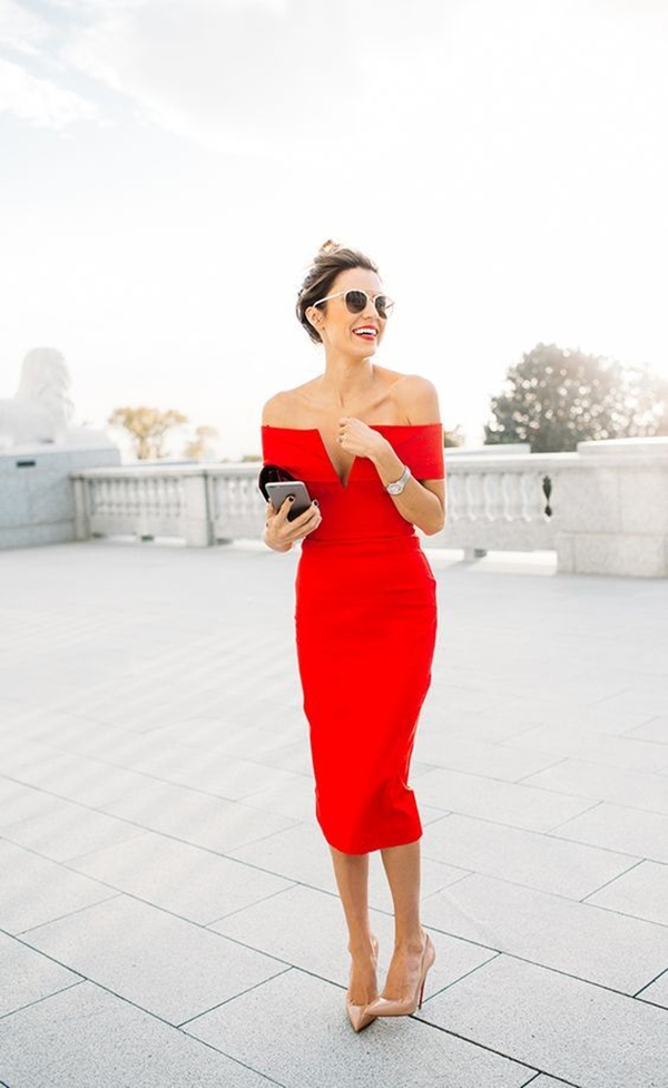 40 Ambitious midi dress Outfits- That Are Actually Cute! (16)