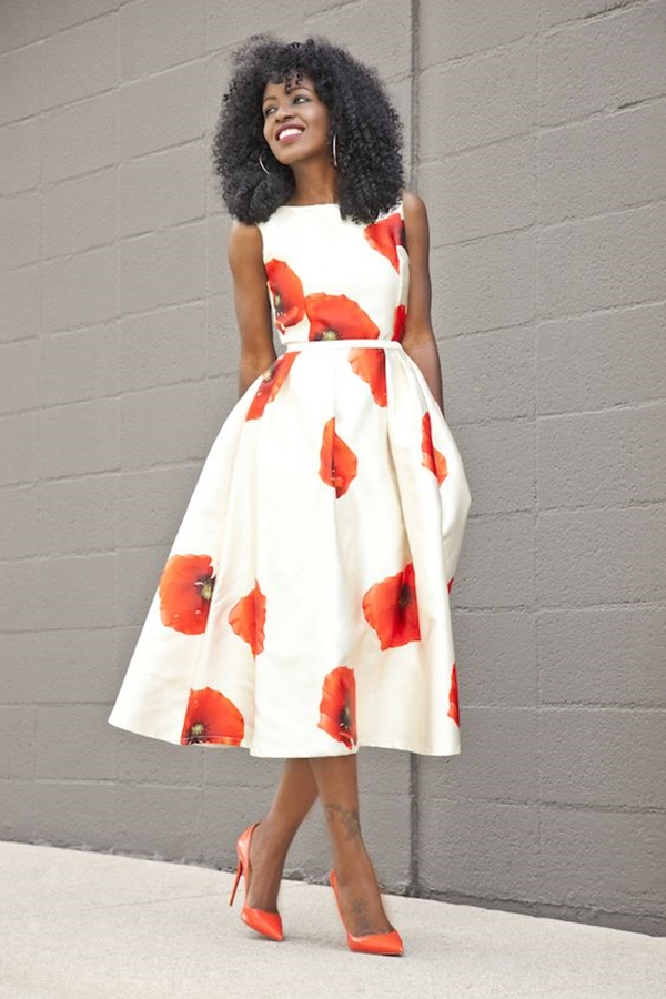 40 Ambitious midi dress Outfits- That Are Actually Cute! (21)