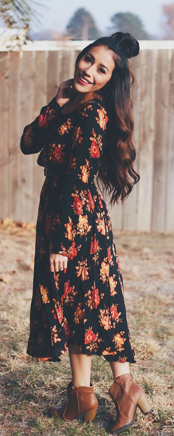 40 Ambitious midi dress Outfits- That Are Actually Cute! (33)
