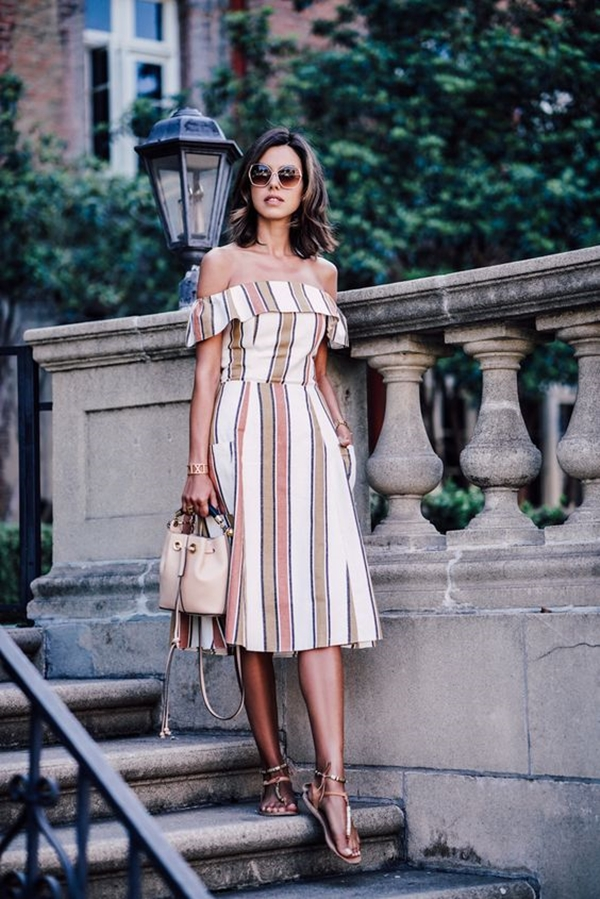 40 Ambitious midi dress Outfits- That Are Actually Cute! (35)