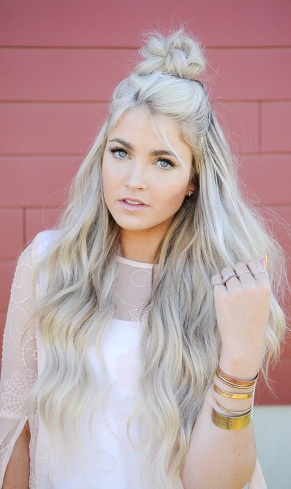 40 Beachy & Summer Blonde Hair Hairstyles (30)