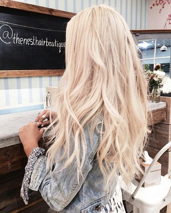 40 Beachy & Summer Blonde Hair Hairstyles (35)