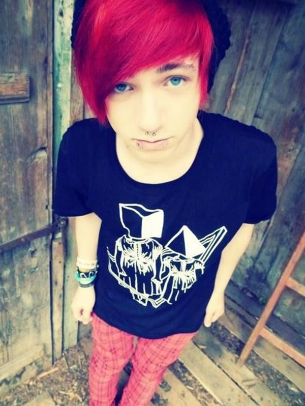 Cute Emo Hairstyles for Teens (1)