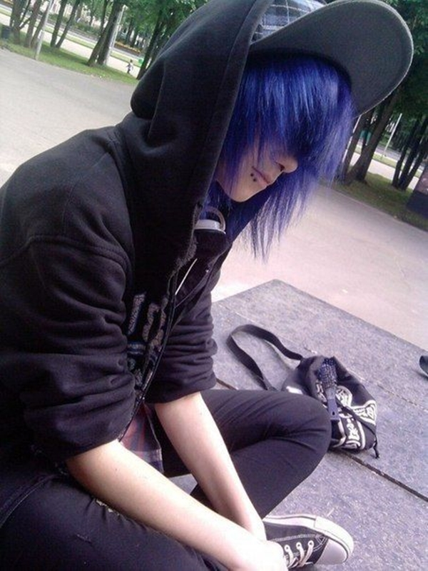 Cute Emo Hairstyles for Teens (12)
