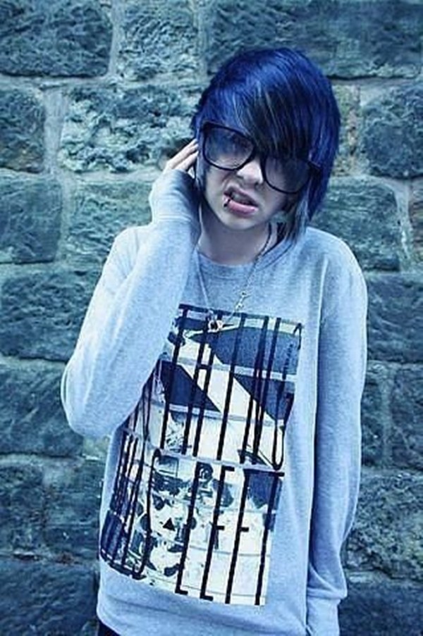 Cute Emo Hairstyles for Teens (18)
