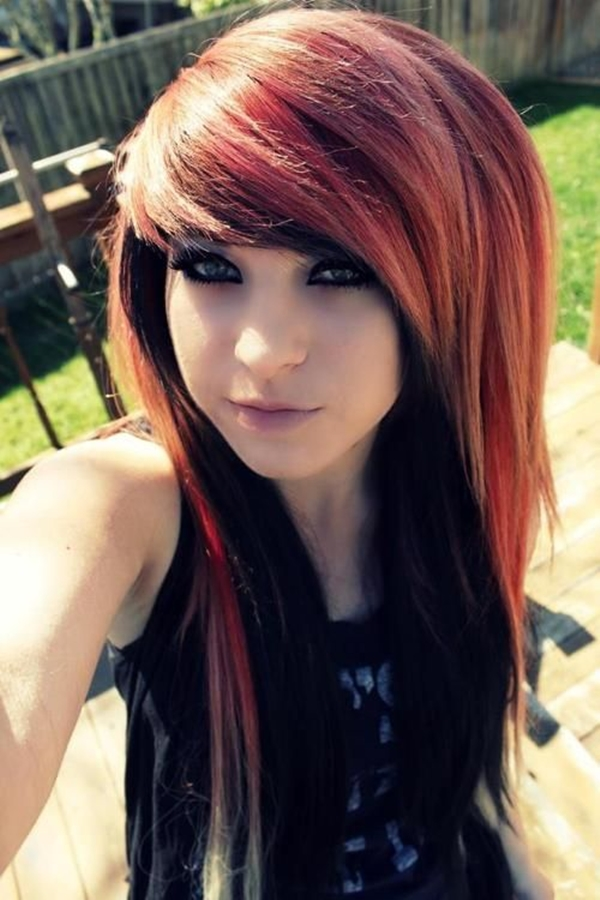 Cute Emo Hairstyles for Teens (19)
