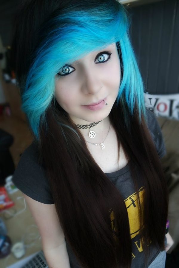 Cute Emo Hairstyles for Teens (21)