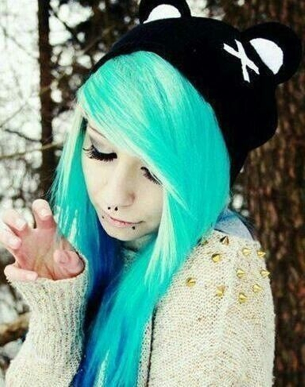 Cute Emo Hairstyles for Teens (25)