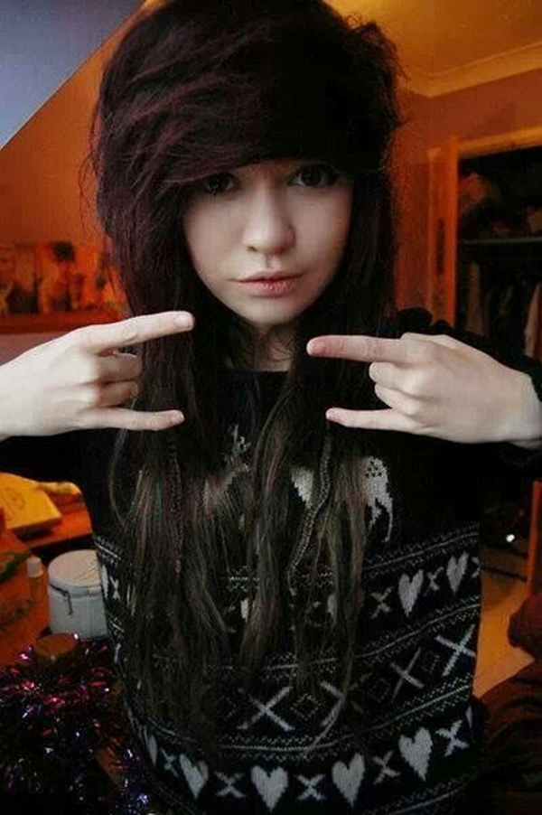 Cute Emo Hairstyles for Teens (26)