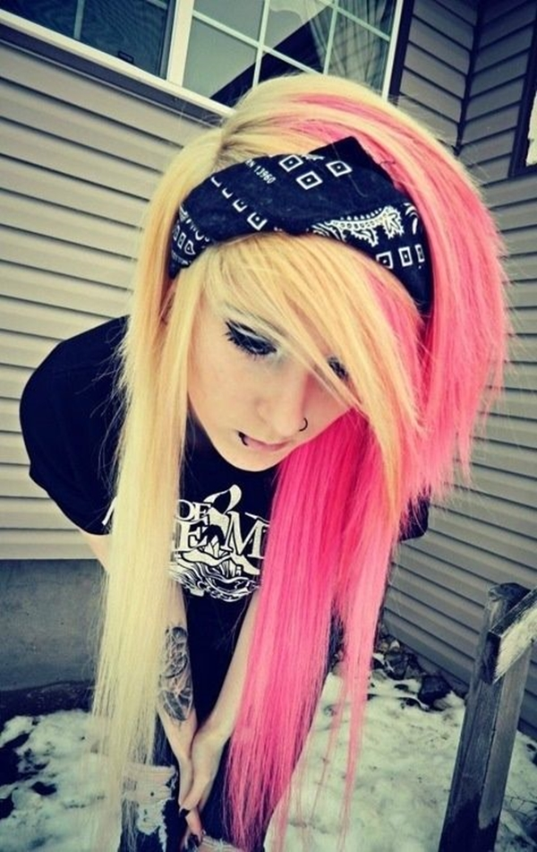 Cute Emo Hairstyles for Teens (28)