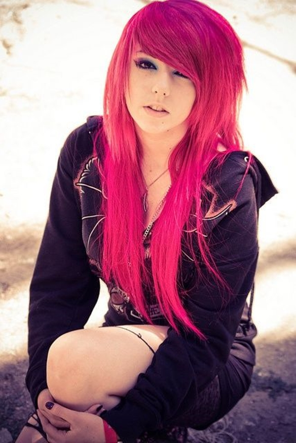 Cute Emo Hairstyles for Teens (29)