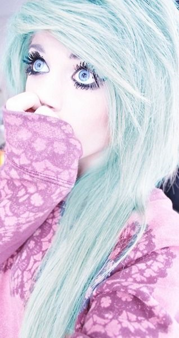 Cute Emo Hairstyles for Teens (30)
