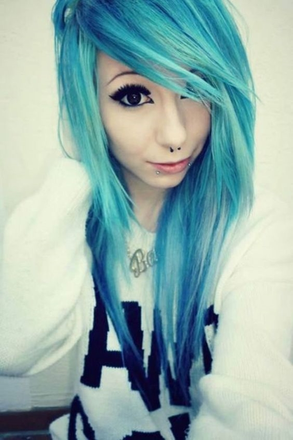 Cute Emo Hairstyles for Teens (31)