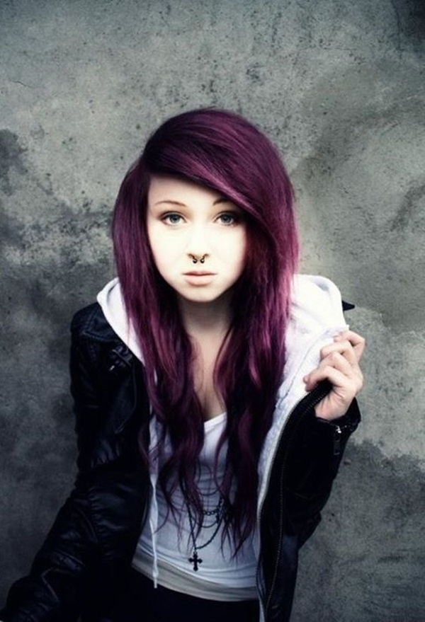Cute Emo Hairstyles for Teens (34)