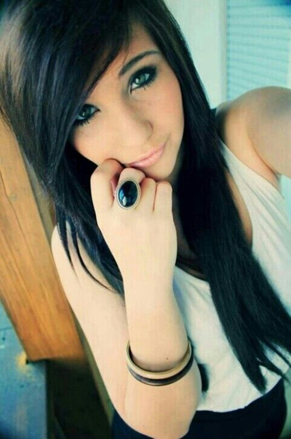 Cute Emo Hairstyles for Teens (35)