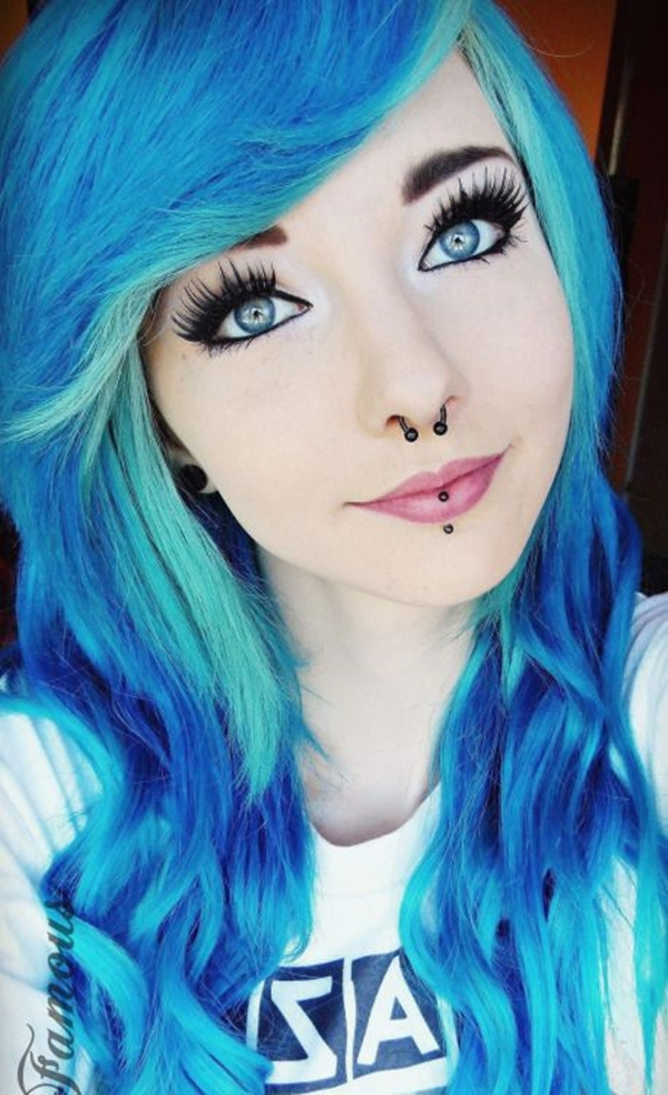 Cute Emo Hairstyles for Teens (36)
