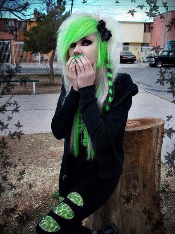 Cute Emo Hairstyles for Teens (38)