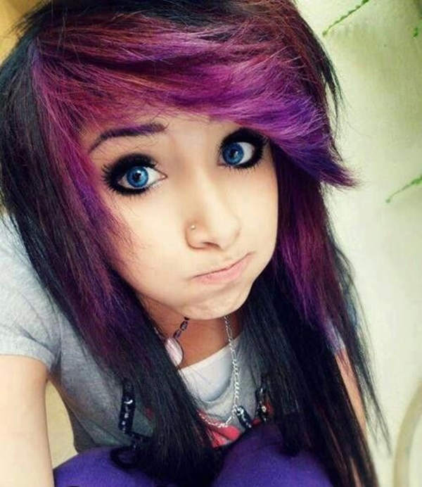Cute Emo Hairstyles for Teens (39)