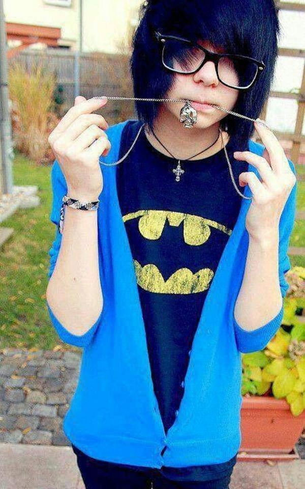 Cute Emo Hairstyles for Teens (4)