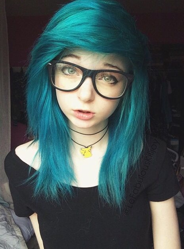 Cute Emo Hairstyles for Teens (40)