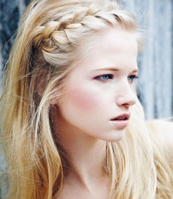 Cute and Girly Hairstyles with Braids - (1)