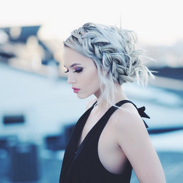 Cute and Girly Hairstyles with Braids - (10)