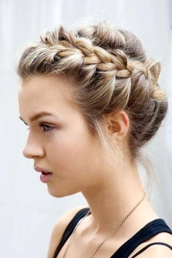 Cute and Girly Hairstyles with Braids - (14)