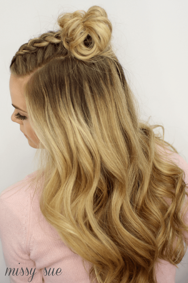 Cute and Girly Hairstyles with Braids - (2)