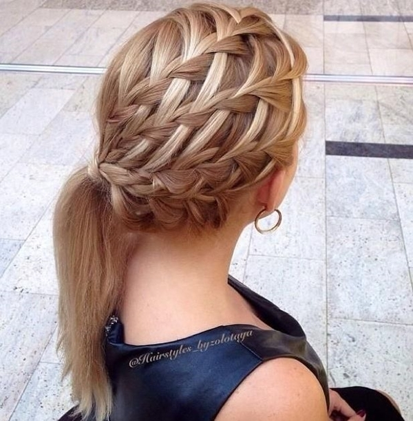 Cute and Girly Hairstyles with Braids - (21)