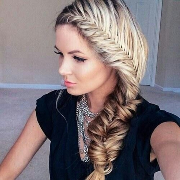 Cute and Girly Hairstyles with Braids - (22)