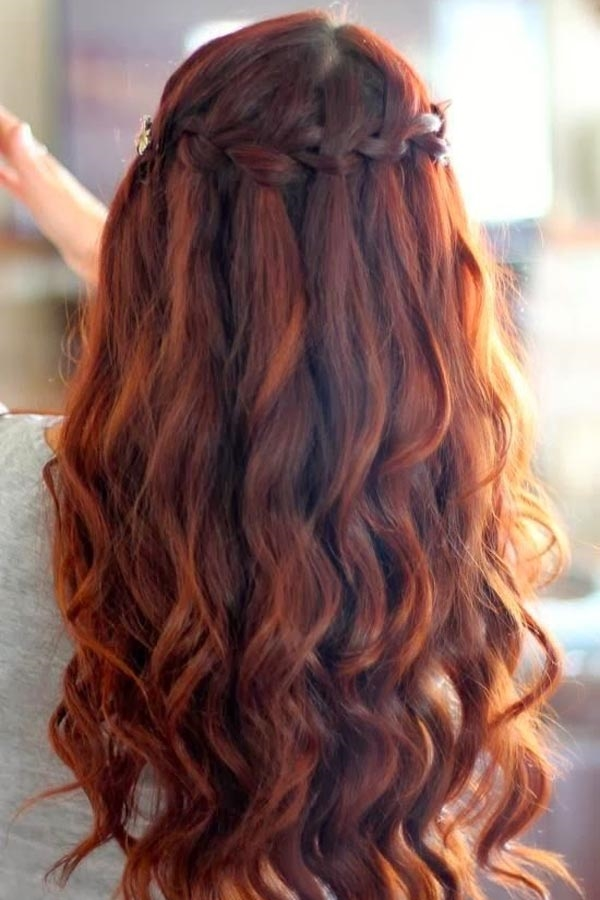 Cute and Girly Hairstyles with Braids - (23)