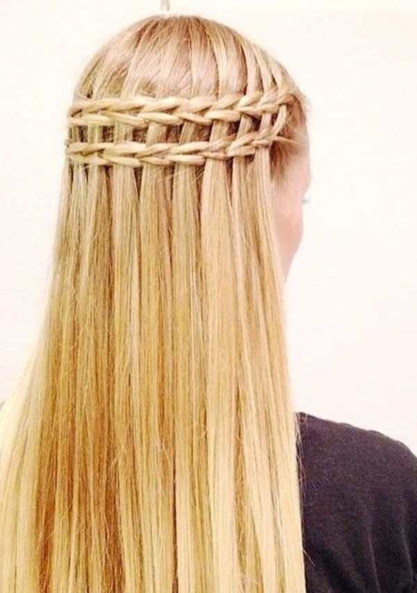 Cute and Girly Hairstyles with Braids - (24)