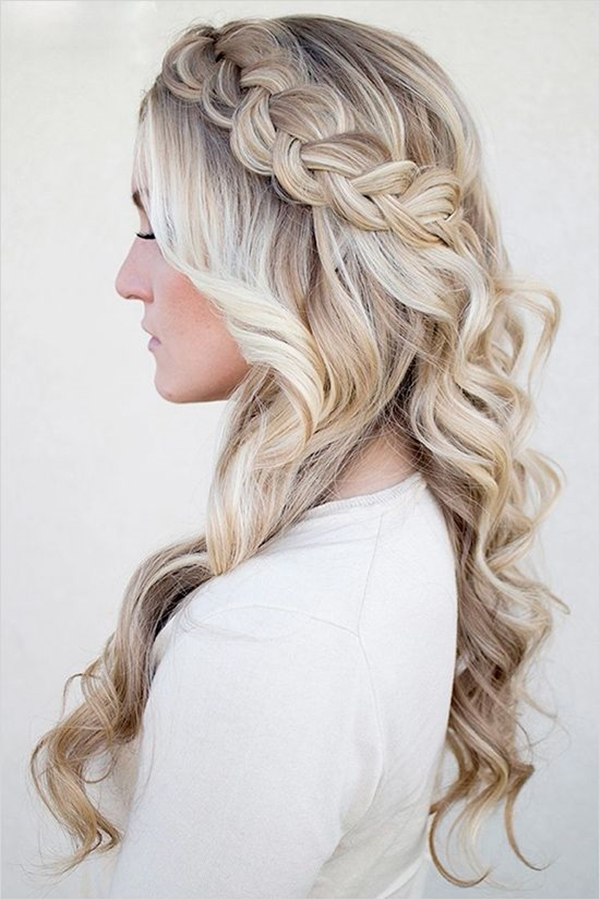 Cute and Girly Hairstyles with Braids - (26)